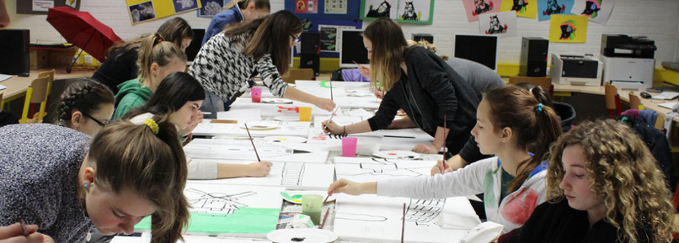 Realschule broich unsere schule for Grafikdesign schule